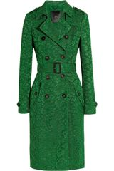 Burberry Prorsum Lace Trench Coat