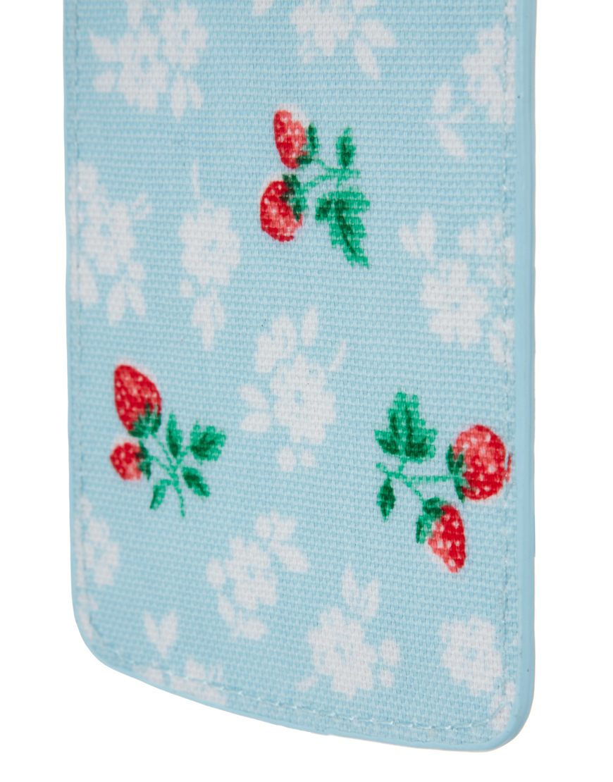 Cath Kidston Luggage Tag In Blue For Men Lyst