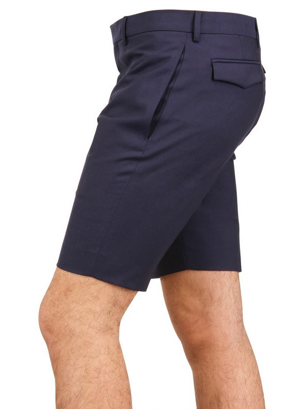 release info on quality huge discount Dior Homme Blue Wool Toile Shorts for men