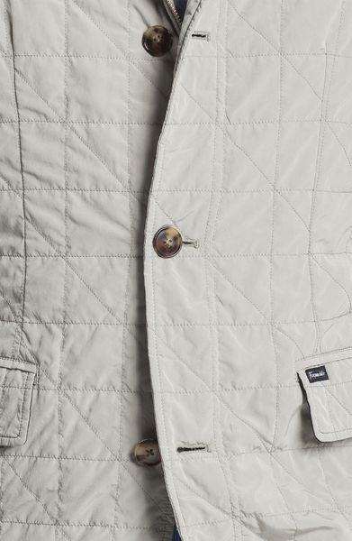 Fa 231 Onnable Veste Quilted Jacket In Gray For Men End Of