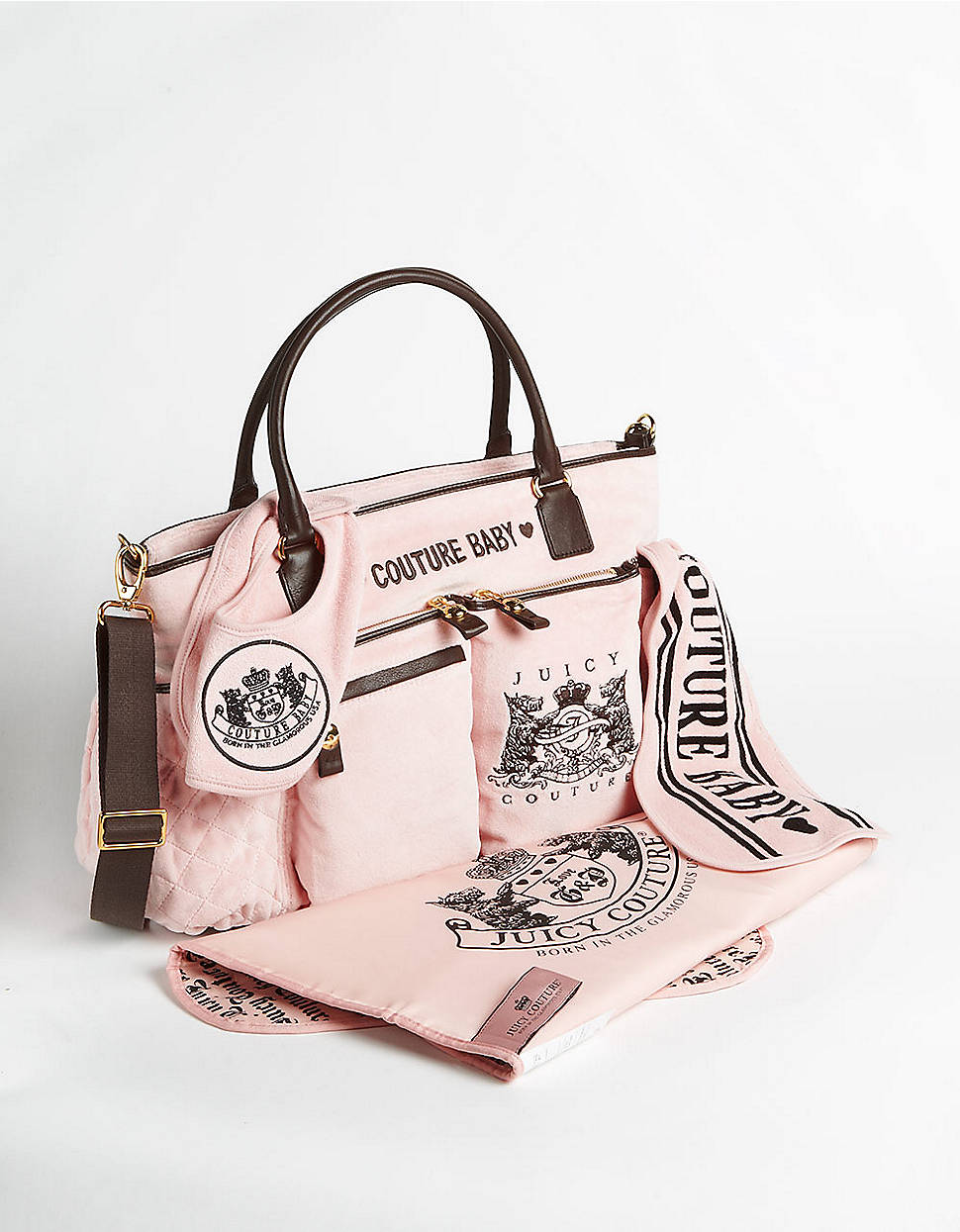 how to clean juicy couture velour bag