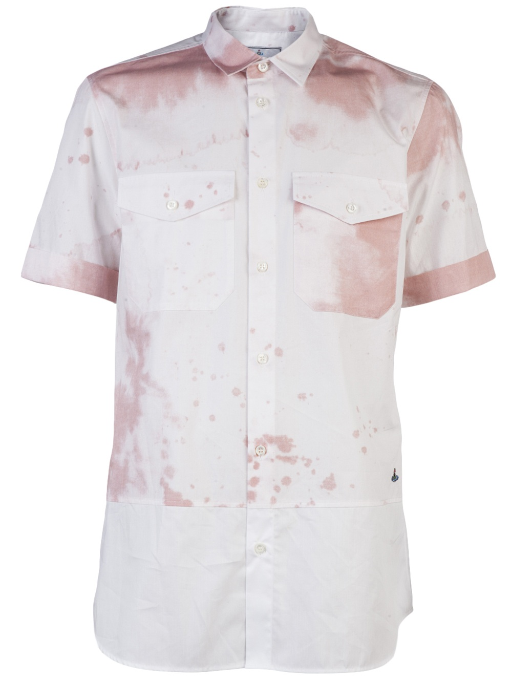 Vivienne westwood wine stain shirt in purple for men wine for Stain out of white shirt