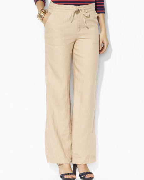 New Linen Pants Women Pants For Women Resort Wear For Women Wide Leg Pants