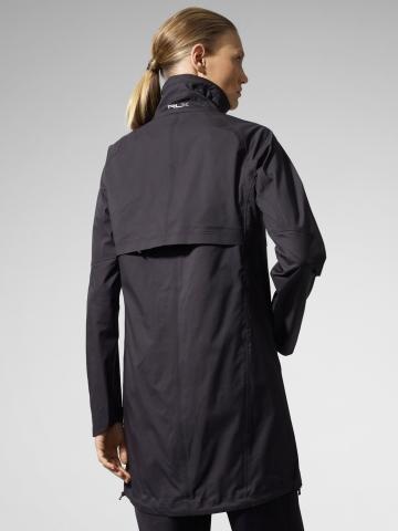 Rlx Ralph Lauren Waterproof Funnel Neck Jacket In Black Lyst