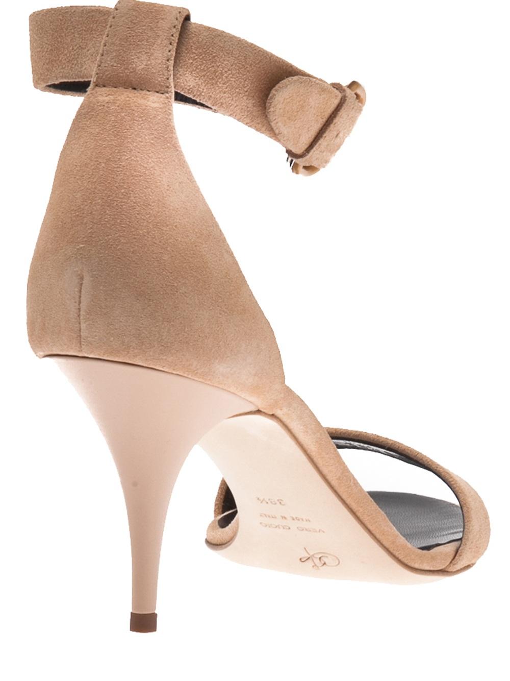 Nude Kitten Heel Sandals - Is Heel