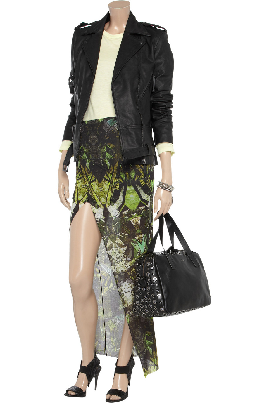 Lyst Sara Berman Edie Leather Jacket In Black