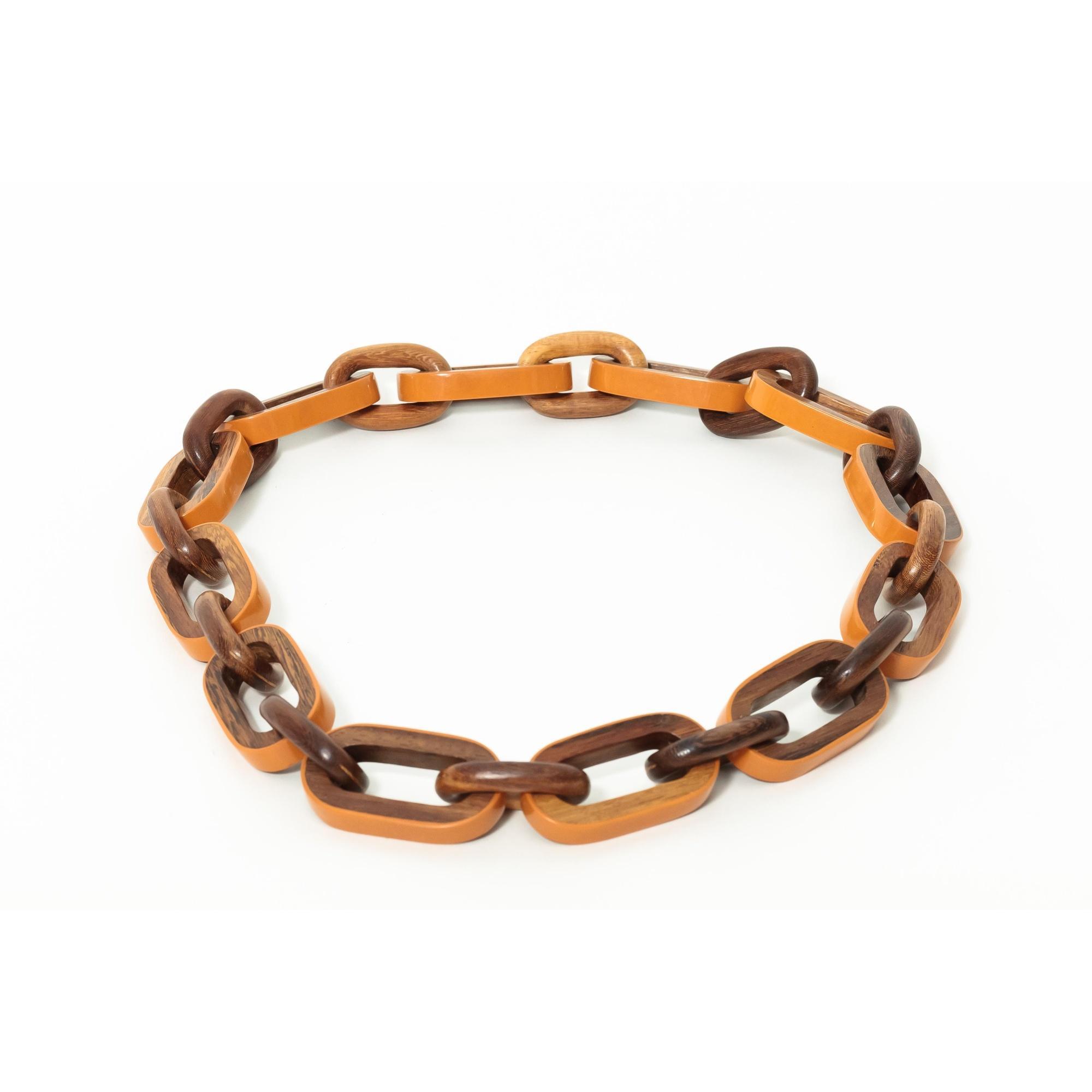 susanna valerio kenya necklace in brown lyst