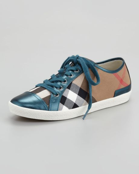 burberry sneakers lyst