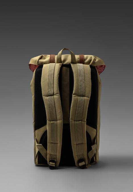 Herschel supply co. Little America Backpack in Khaki in ...