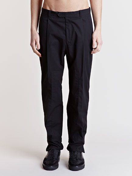 Lyst Balenciaga Tapered Cuff Pants In Black For Men