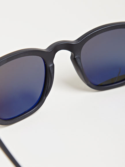 7c8099cb22 Mosley Tribes Bryson Matte Black Sunglasses in Black for Men - Lyst