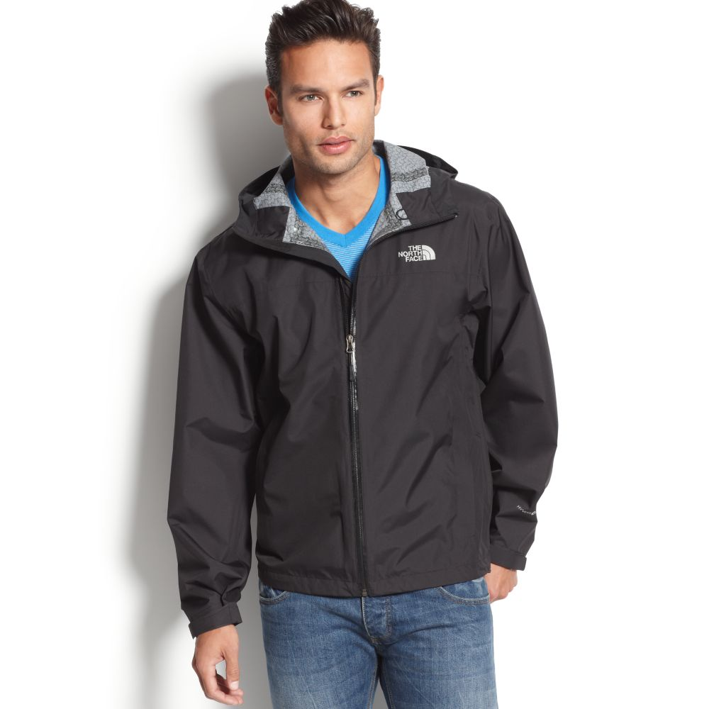 the north face rdt hyvent rain jacket with flashdry in gray for men lyst. Black Bedroom Furniture Sets. Home Design Ideas