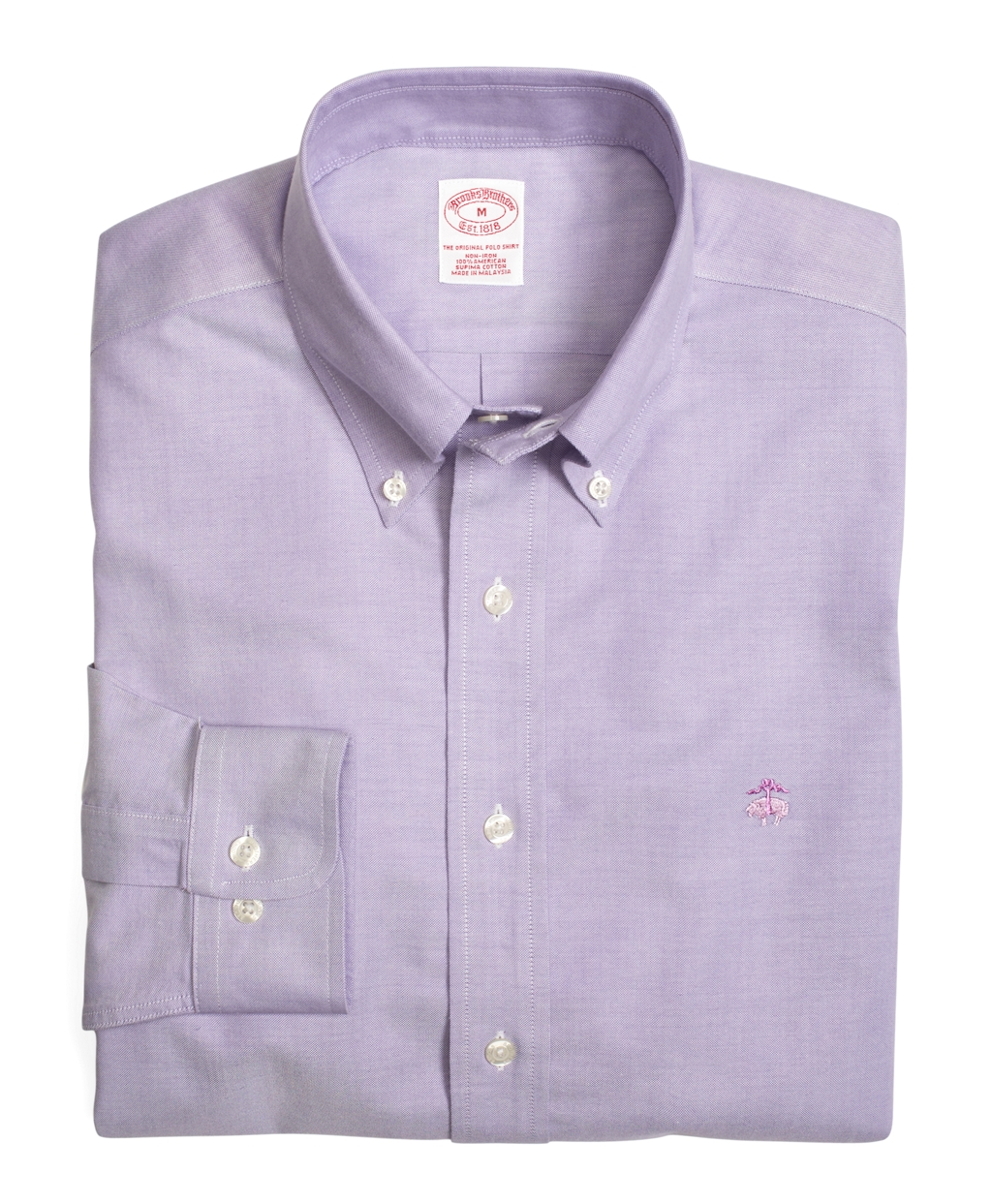Brooks brothers supima cotton noniron slim fit brookscool for Brooks brothers dress shirt fit guide