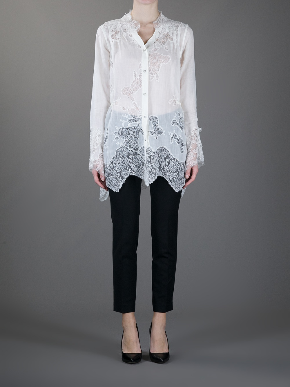 SHIRTS - Blouses Ermanno Scervino Best Cheap Price Discount Cheapest Price Clearance Professional FutcjBK5Y