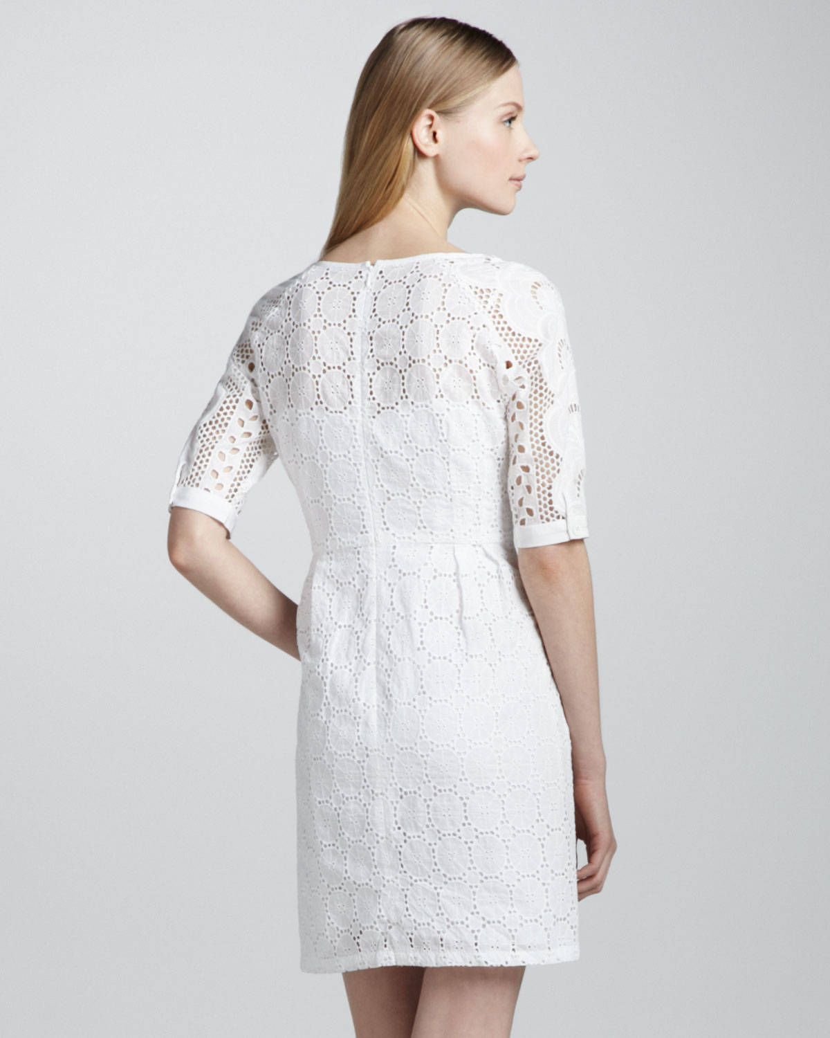 Lyst Nanette Lepore Sandy Beach Lace Dress In White