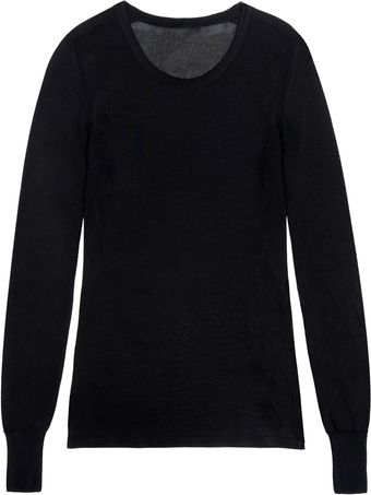 Isabel Marant Cliff Pullover in Black - Lyst