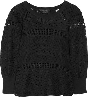Isabel Marant Scott Openknit Cotton Sweater - Lyst