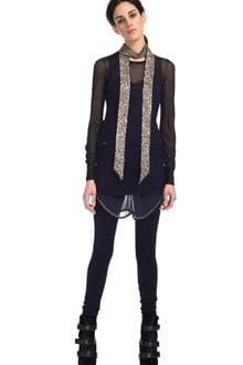 Isabel Marant Avery Knit Leggings in Purple - Lyst