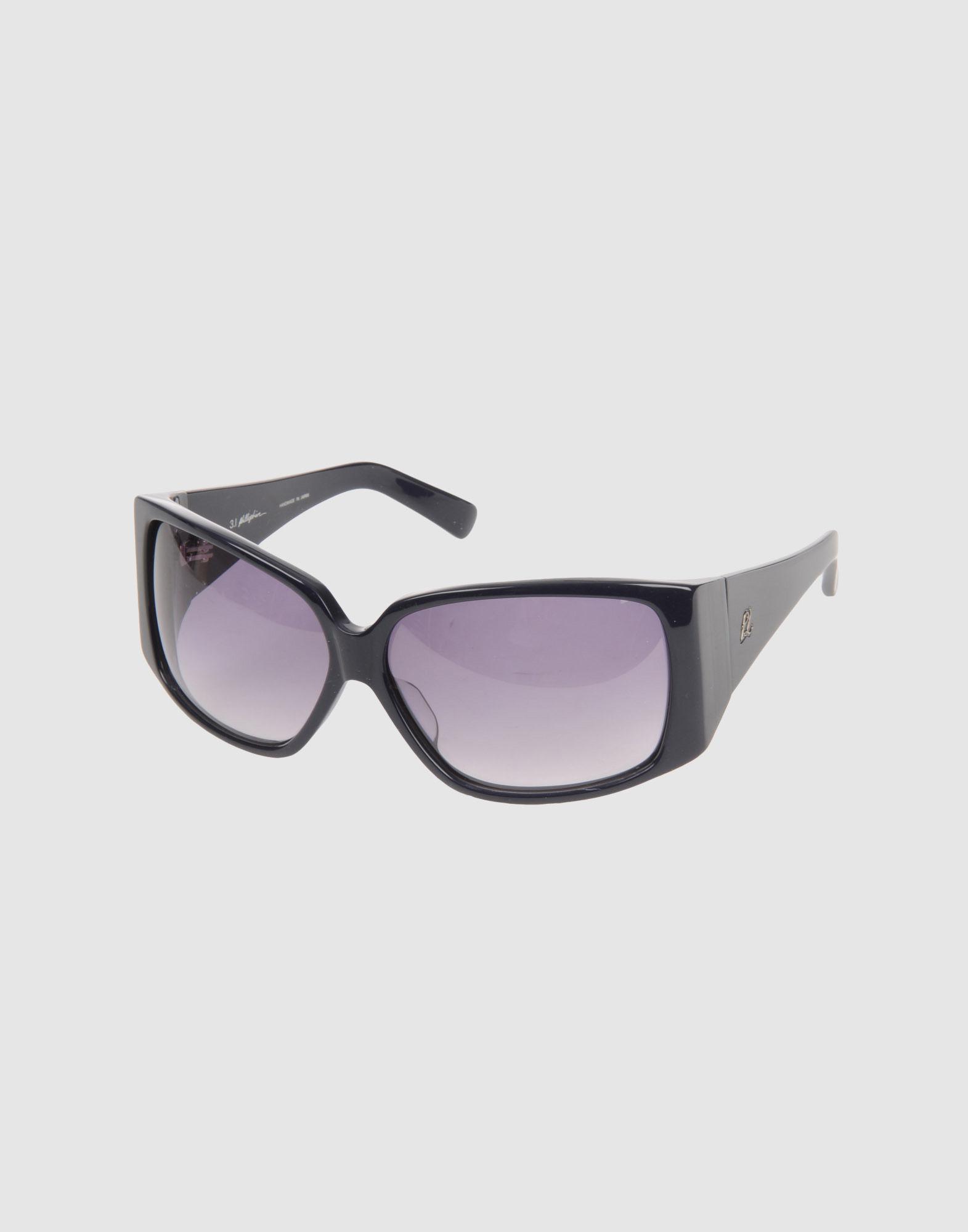 3 1 phillip lim sunglasses in blue lyst