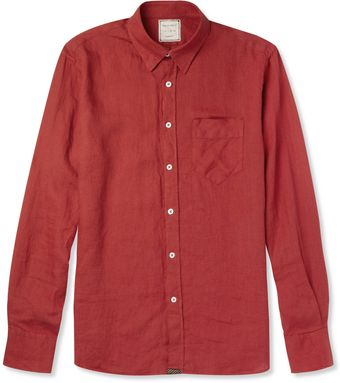 Billy Reid Walland Linen Shirt - Lyst