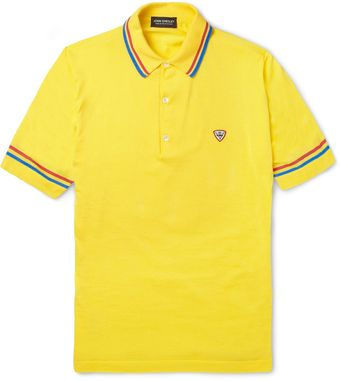 John Smedley Coleman Knitted Sea Island Cotton Polo Shirt - Lyst