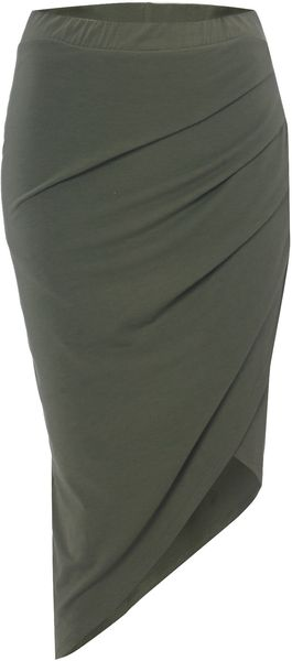 Label Lab Wrap Skirt - Lyst