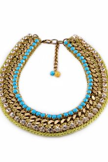 Lamprini Chic and Silk Necklace - Lyst
