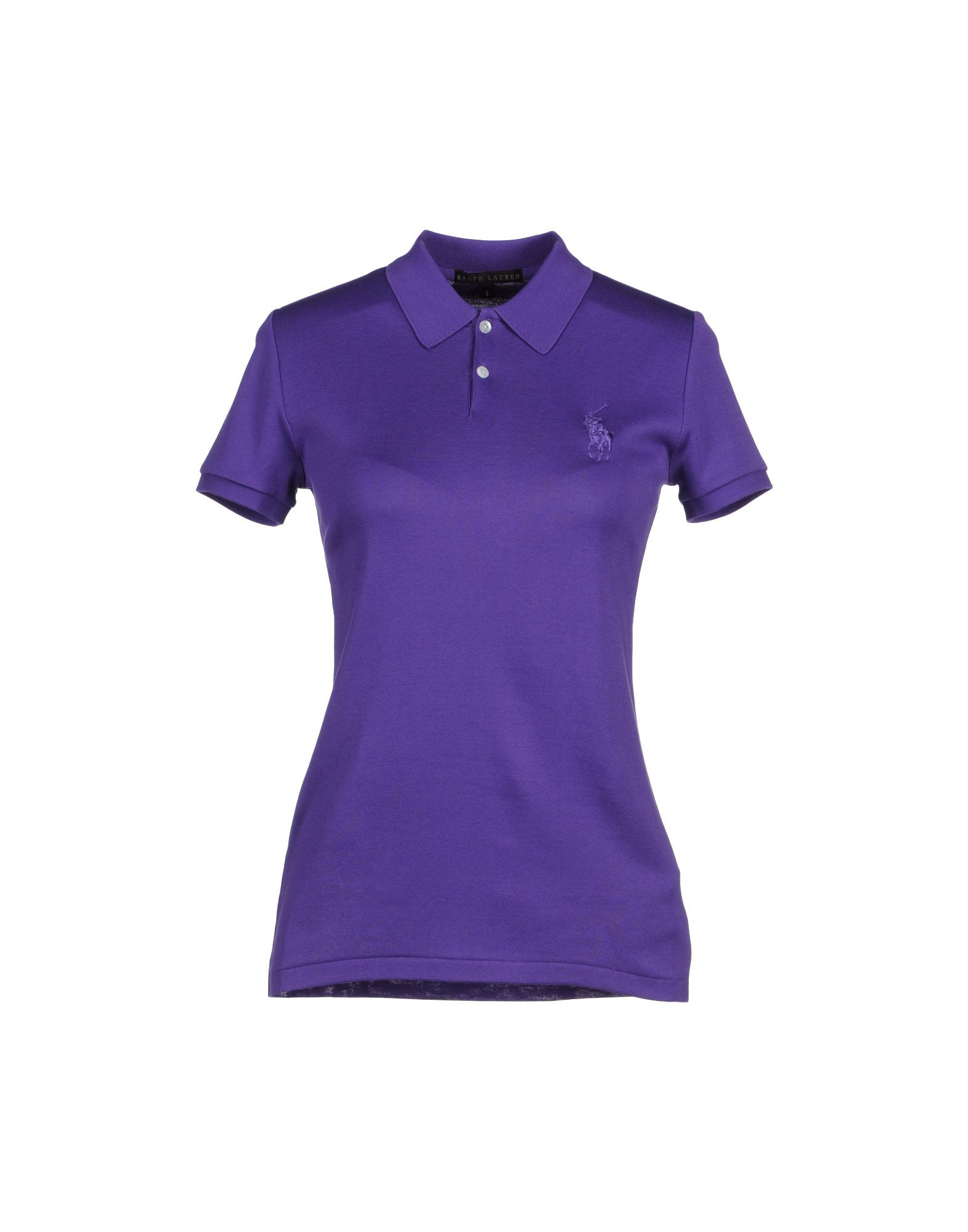 Ralph lauren black label polo shirts in purple dark for Ralph lauren black label polo shirt