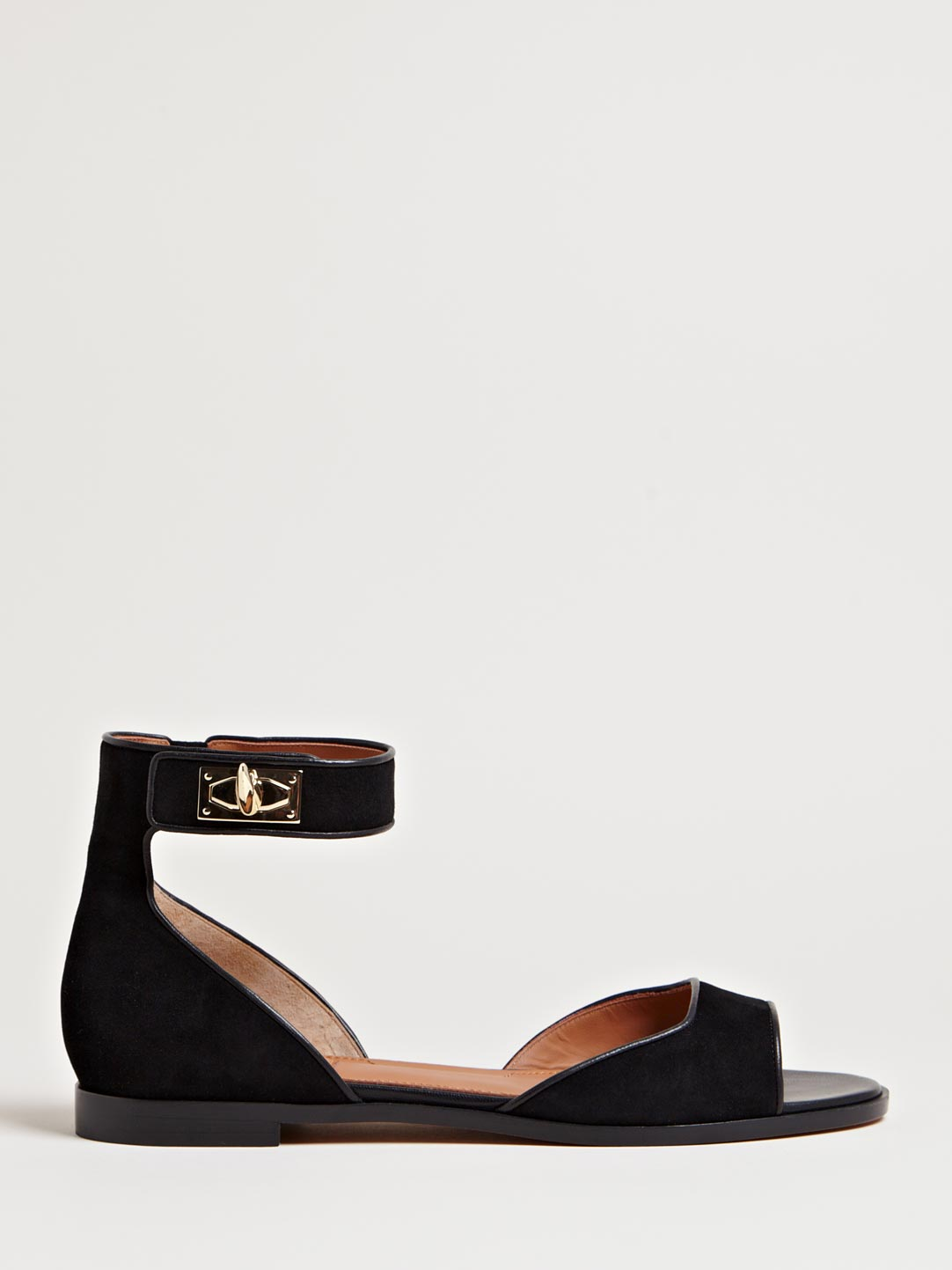 Givenchy Womens Ankle Strap Sandals In Black Lyst