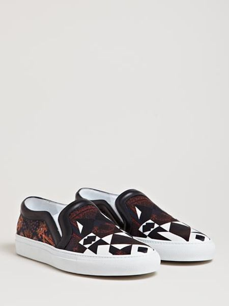 givenchy womens patterned shoes in black multi lyst