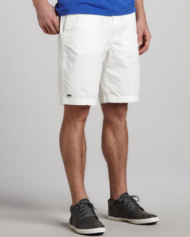 37ede5ddd221 Lyst - Lacoste Classic Bermuda Shorts in White for Men