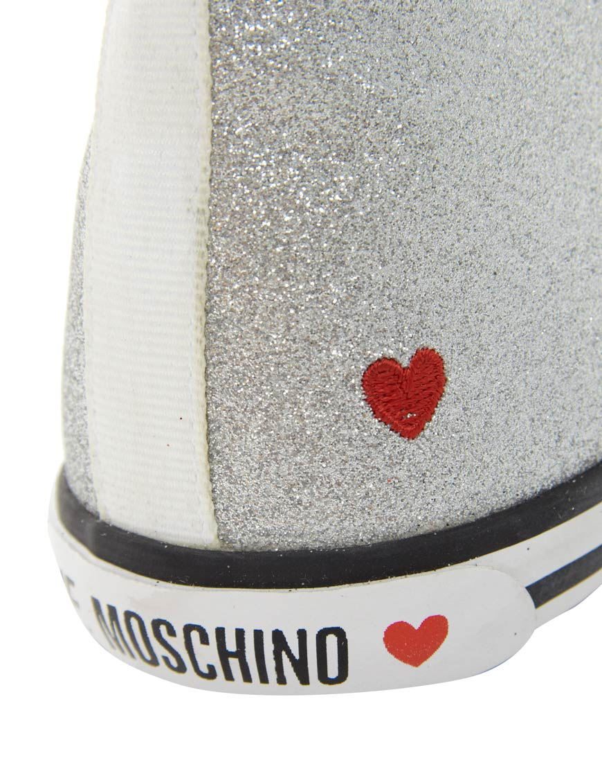 sale outlet Love Moschino glitter sneakers sale new styles cheap price original free shipping original clearance in China Mzq3LW