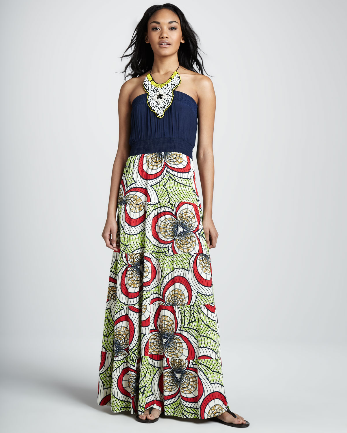 Tbags Maxi Dress