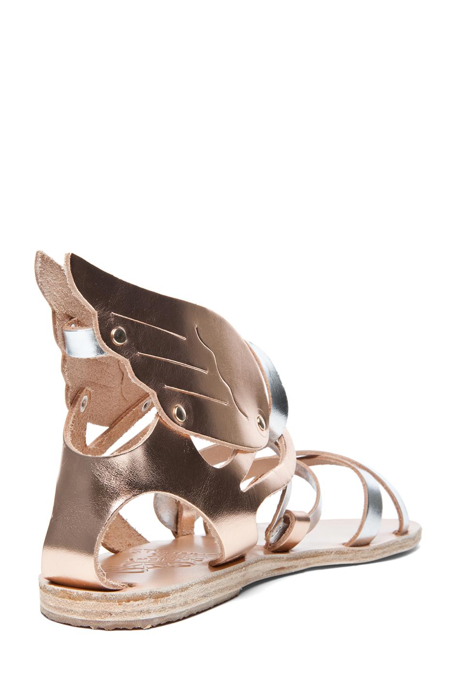 Ancient Greek Sandals Nephele Sandal In Metallic Mix Lyst