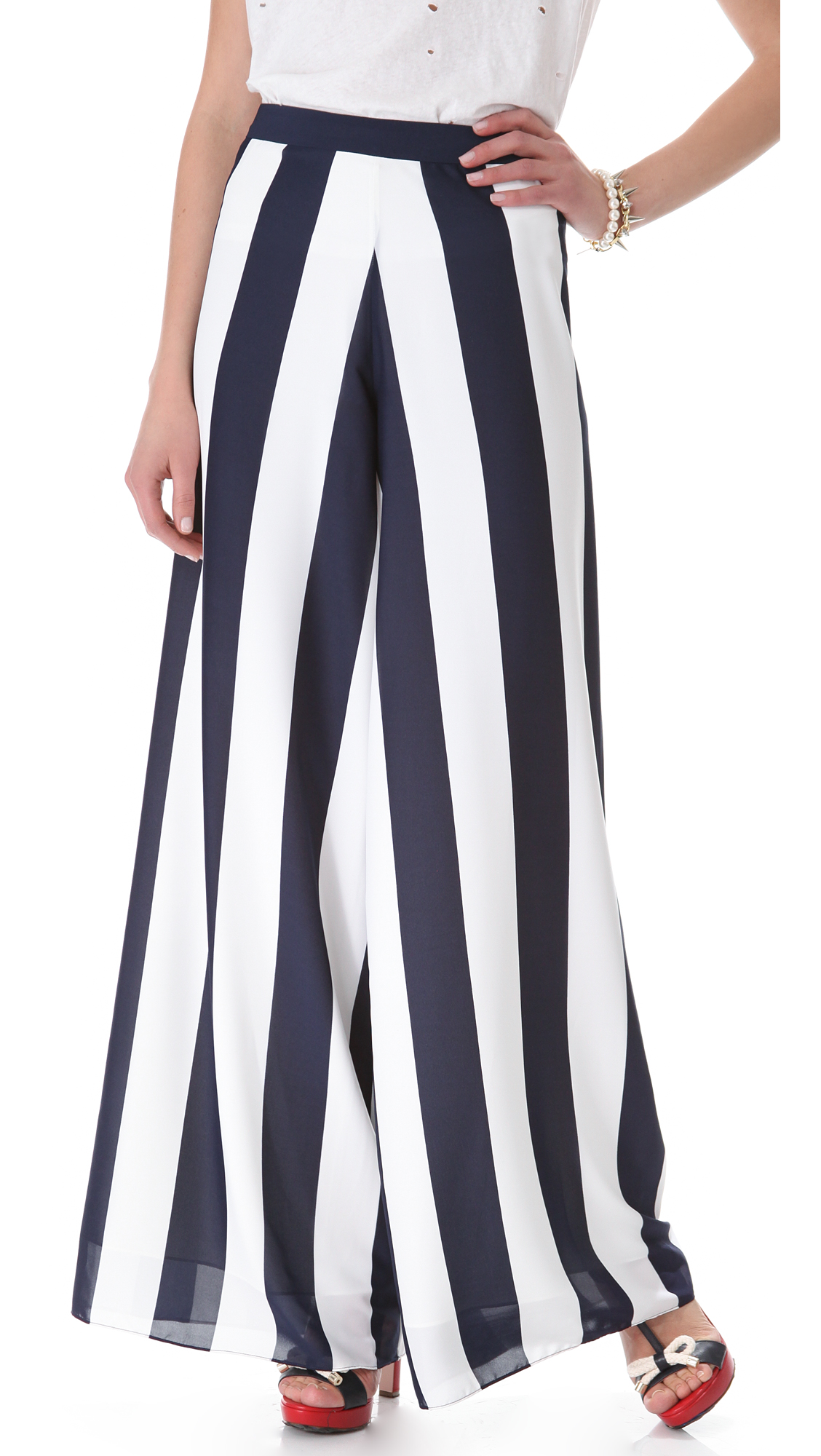 TROUSERS - 3/4-length trousers Alice & Olivia ivqWHYxz1b