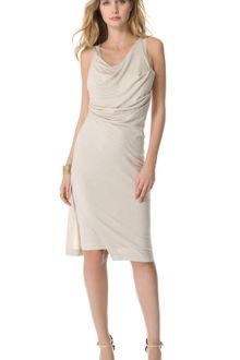 Donna Karan New York Double Layered Tank Dress - Lyst