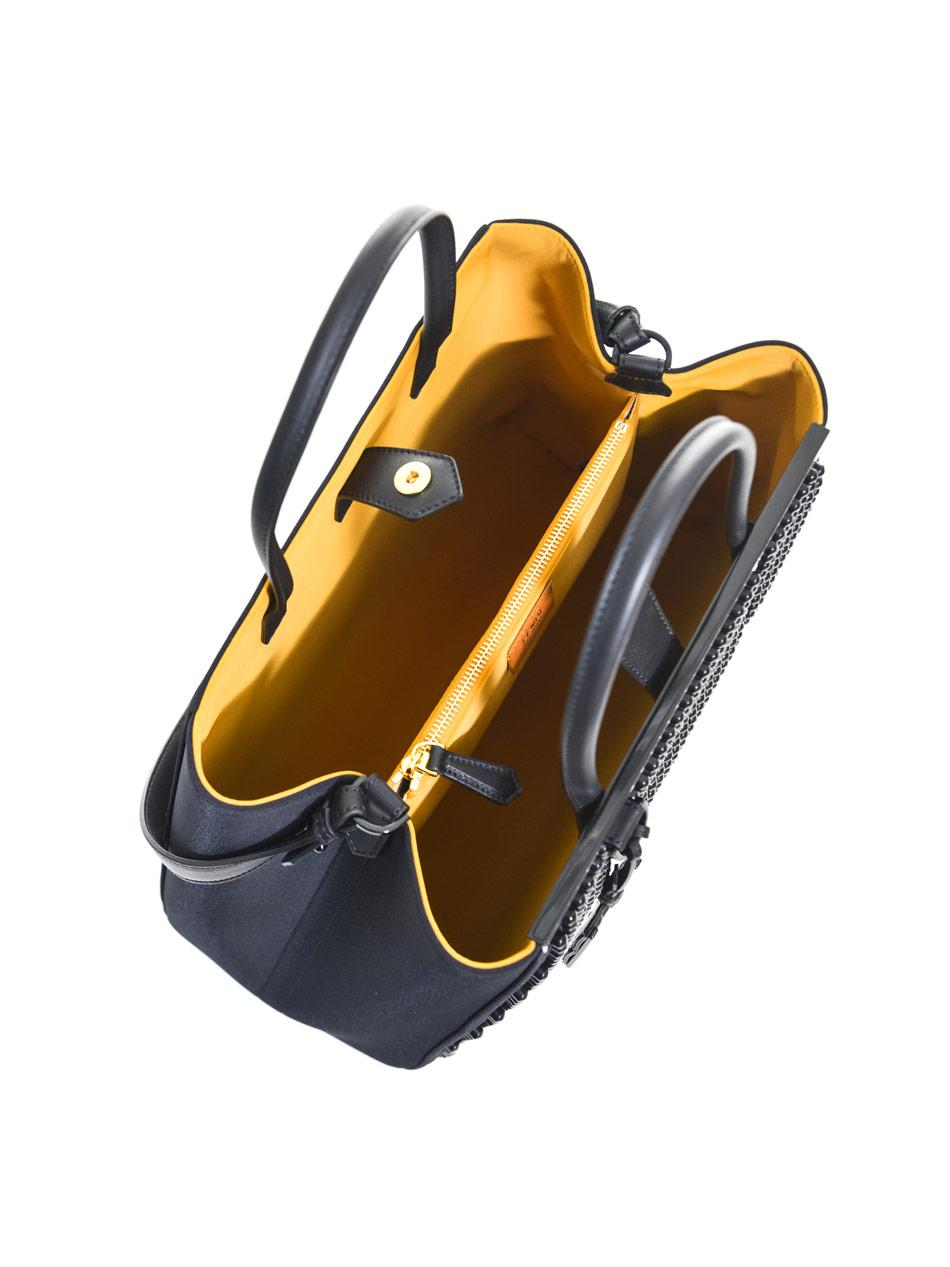 fendi bags outlet online b602  fendi 2jours studded neoprene tote ##randkeyword##