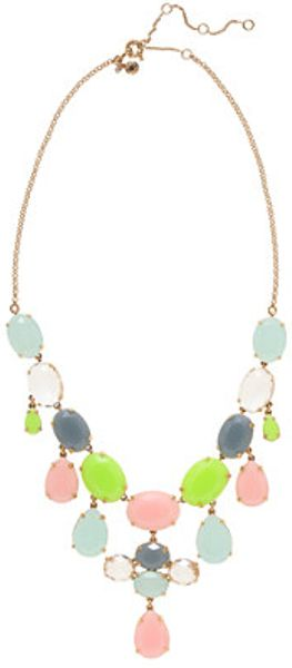 J.Crew Crystal Drops Necklace - Lyst
