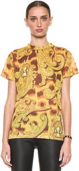 Jeremy Scott Tee in Money Flourish - Lyst