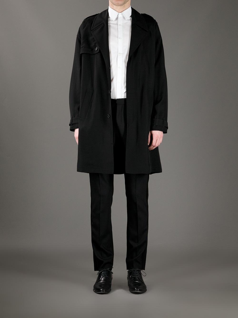 Lyst neil barrett tuxedo stripe trouser in black for men for Neil barrett tuxedo shirt