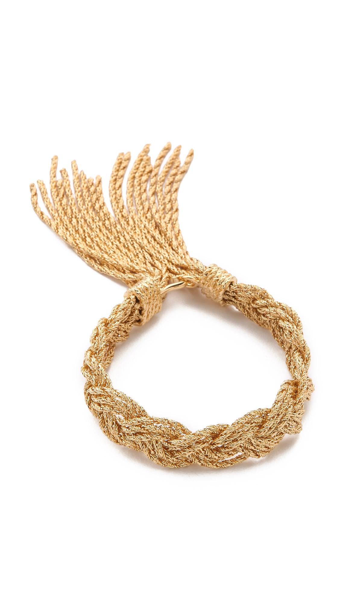 rope bracelet - Metallic Aur 3ND1pj