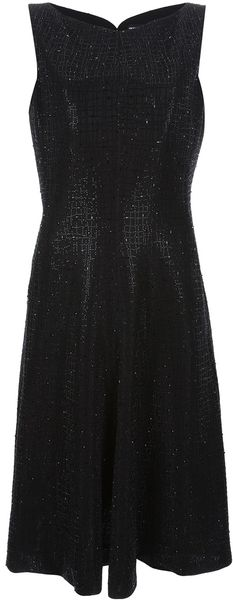 Giorgio Armani Beaded Princess Dress - Lyst