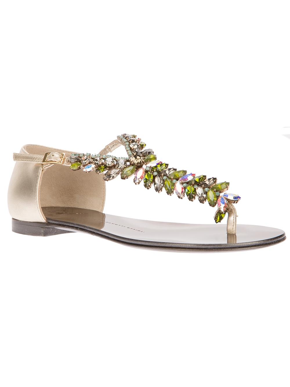 Zanotti Jeweled Amazon 5b60e Giuseppe F8002 Sandals 3Rjq5L4A