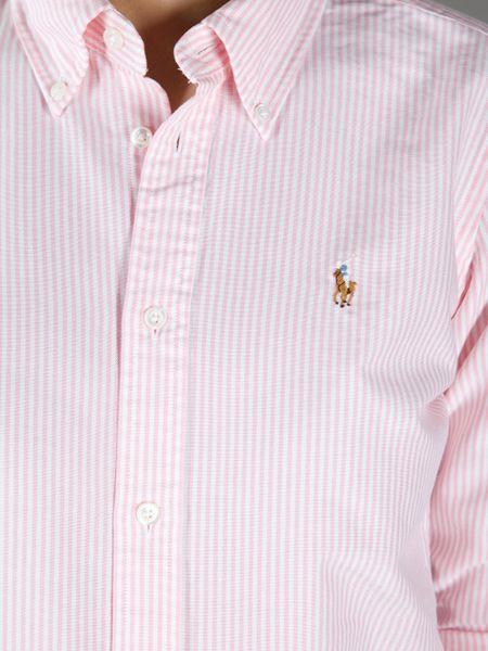 Polo Oxford Shirt Men
