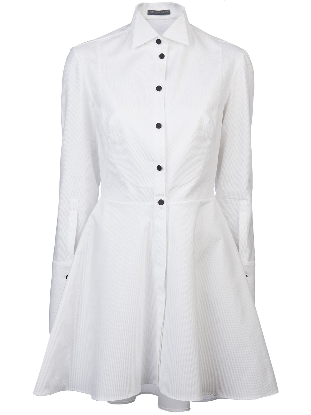 Wonderful WOMEN Black Dress Shirt White Polka Dots Braid  Dress Shirts For Men