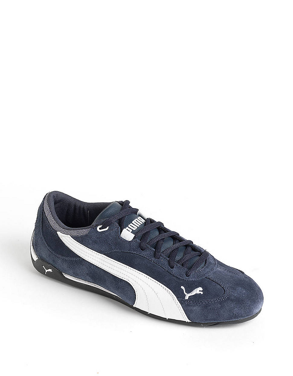 Puma Fast Cat Suede Sneakers In Blue For Men Lyst