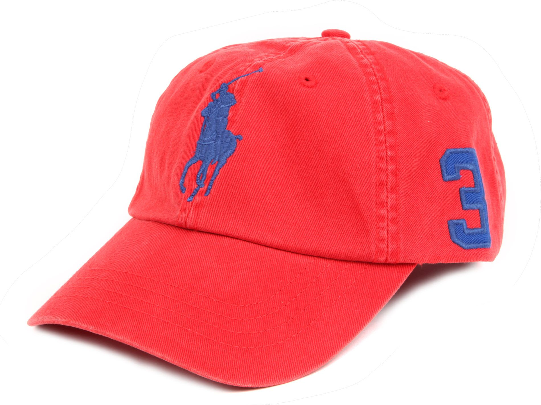 ralph lauren big pony baseball cap in red for men lyst. Black Bedroom Furniture Sets. Home Design Ideas