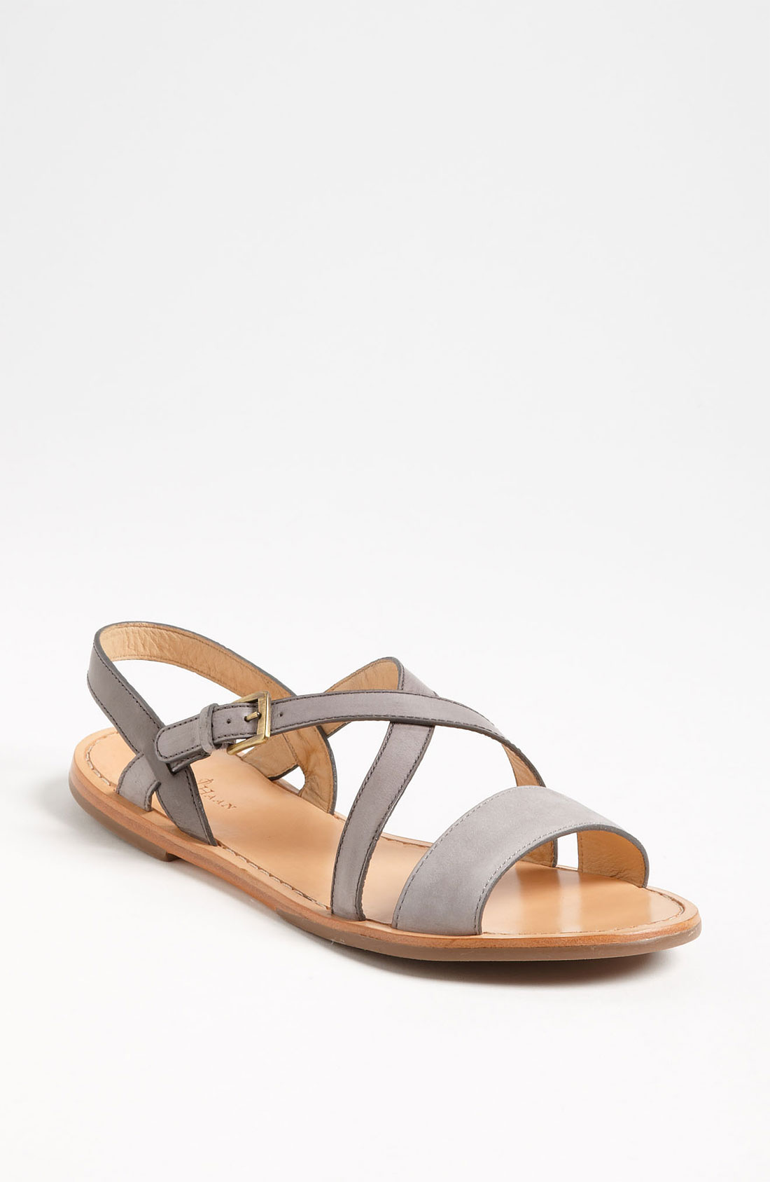 Model Cole Haan Womens Taylor Wedge Sandals In Beige Sand Stone Ivory