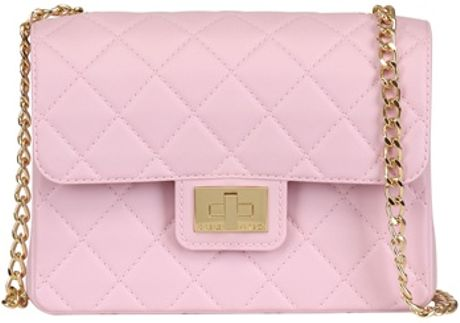 Large Pink Shoulder Bag 6
