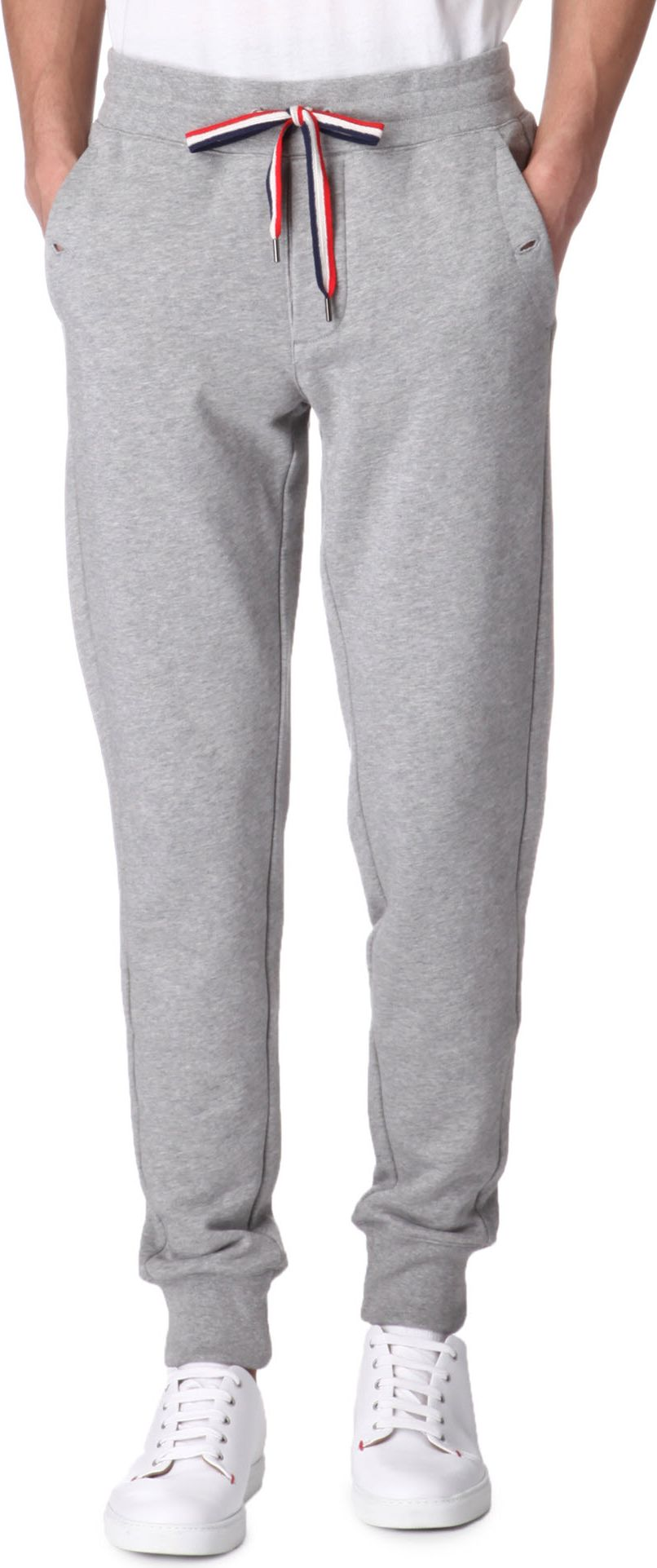 5a9fda459c2d Moncler Jogging Bottoms in Gray for Men - Lyst